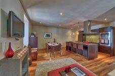 Modern open plan living area