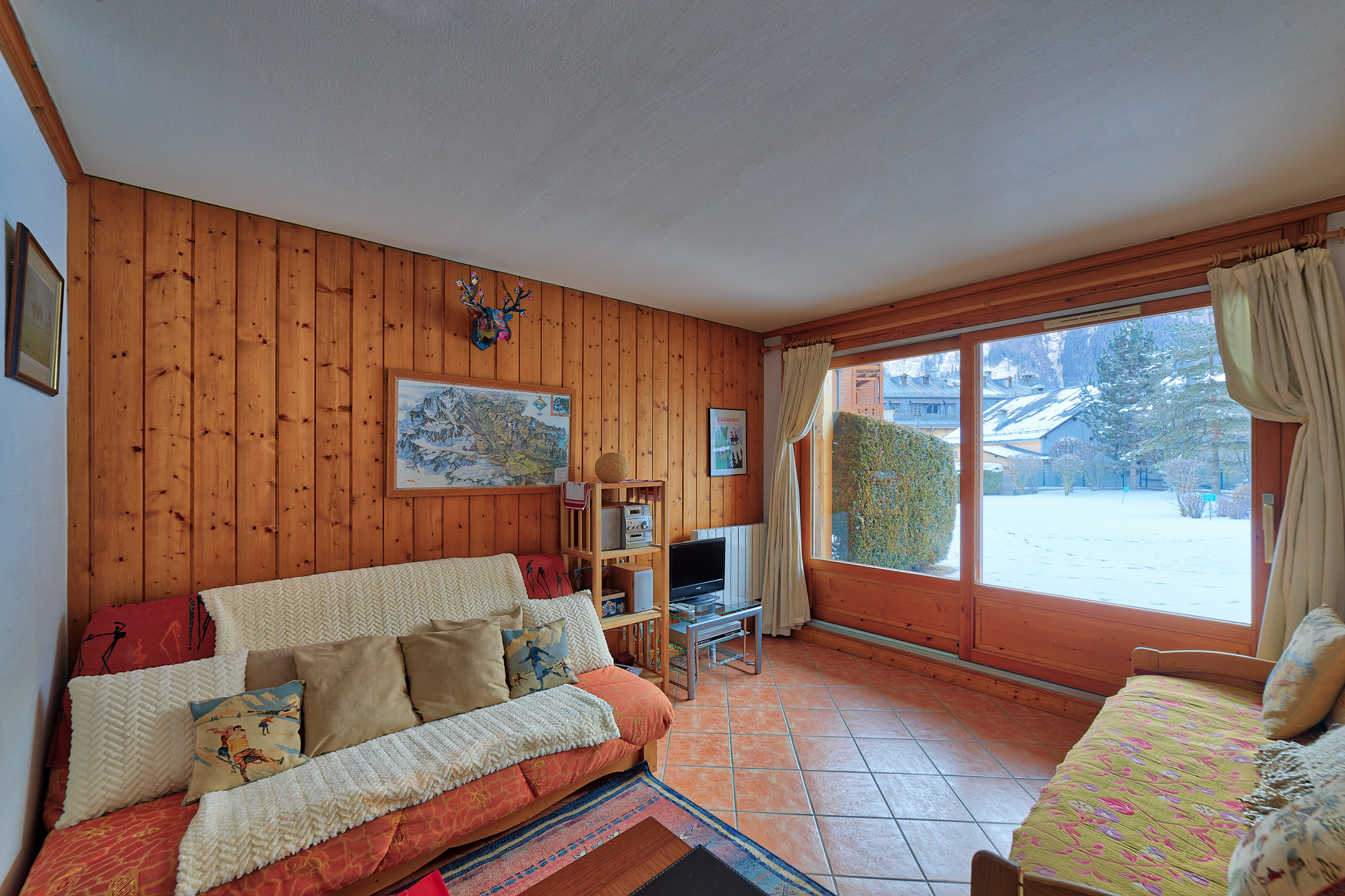 2 bedroom apartment in central chamonix